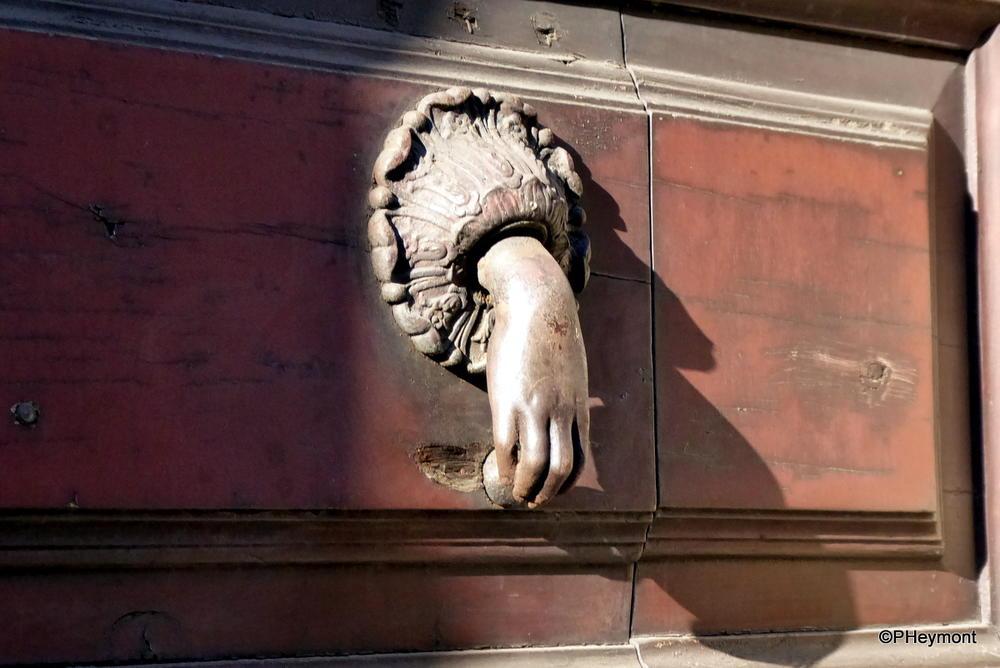 Door Knocker, Via Etena, Catania, Sicily