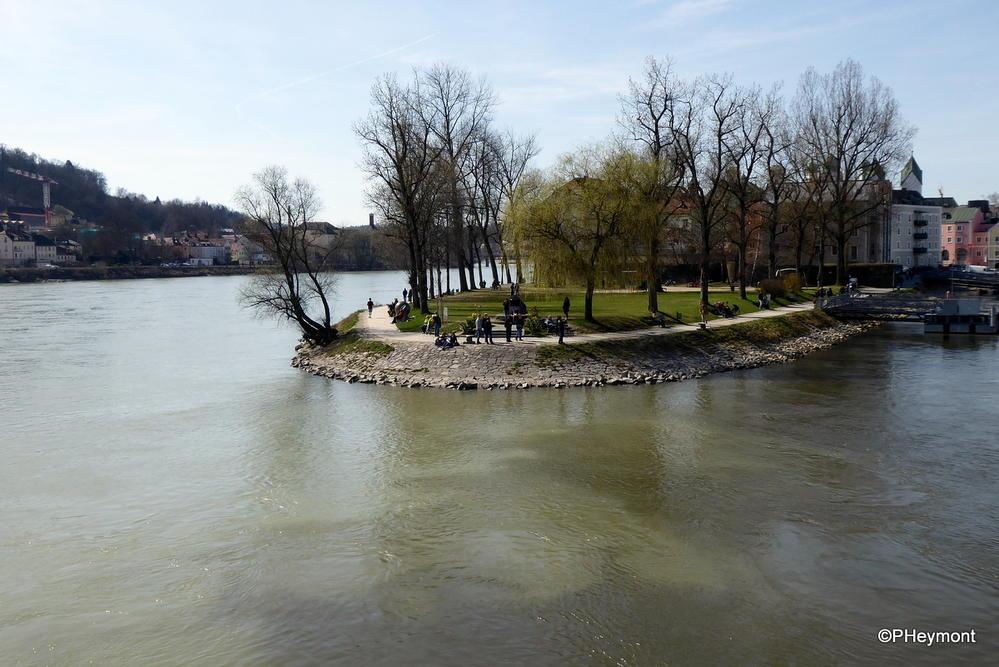 Where the Inn and Danube meet