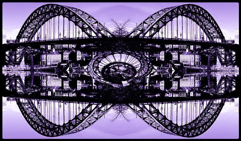 Album Cover, Five Bridges by The Nice. Featuring The Tyne Bridge Newcastle.