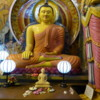 One of the shrines at the Sri Jinaratana Buddhist Temple, Colombo