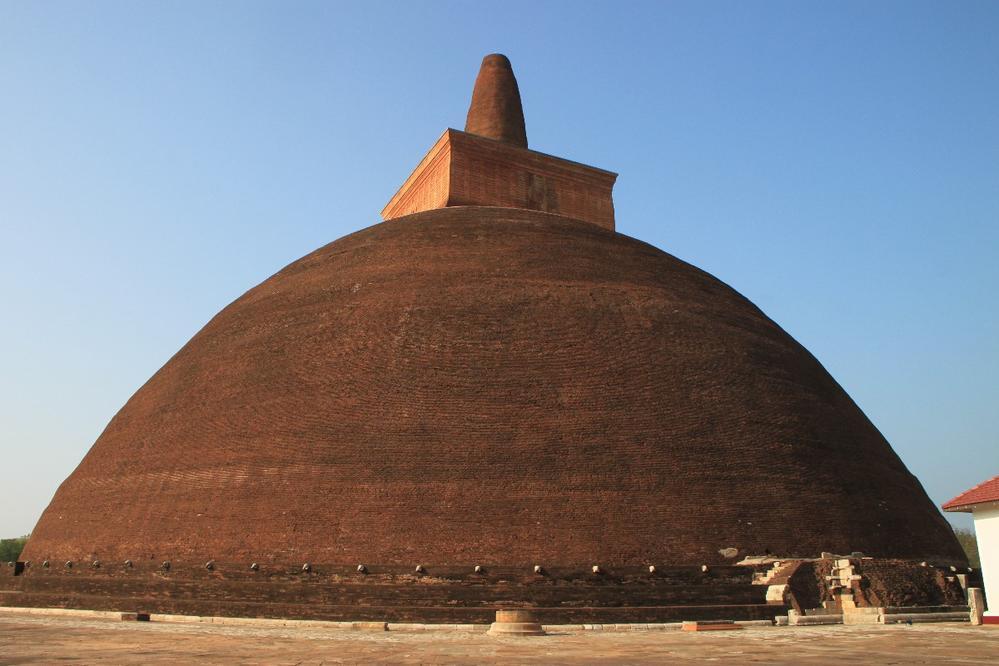 Massive Jetavanarama Dagoba, Anuradhapura, Sri Lanka