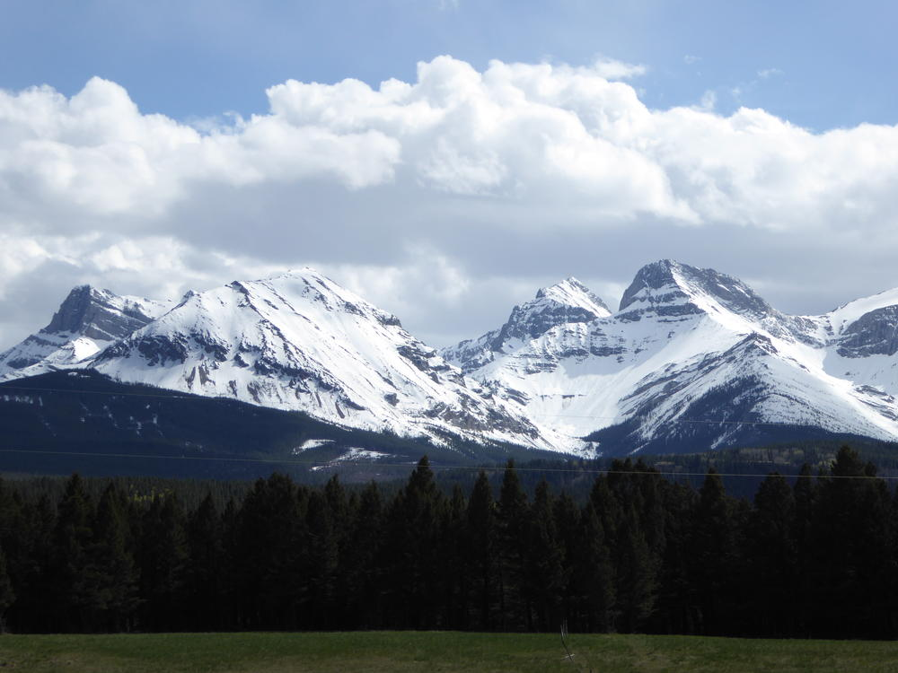 Canadian Rocky Mountains, Crowsnest Pass, Alberta