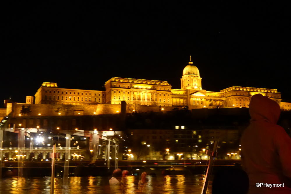 Arriving in Budapest at Night