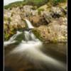 Carey Burn Falls Northumberland.