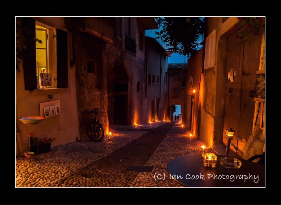 A street in Malcesine, Lake Garda, Italy