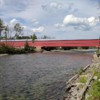 St-Edgar Covered Bridge (1938), New Richmond, Quebec, Canada