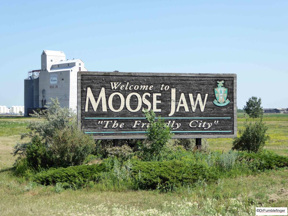 One of my favorite town names.  Moose Jaw, Saskatchewan