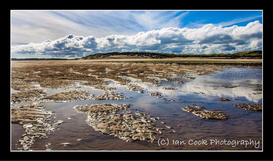 Ross Sands, Northumberland.