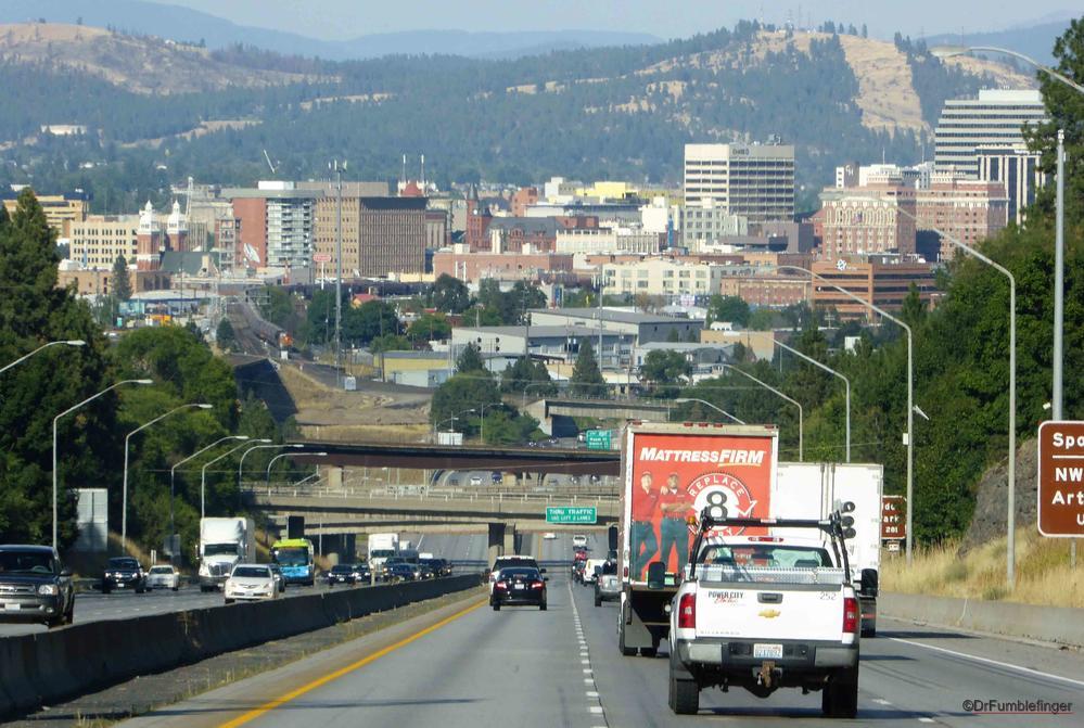 Spokane Washington  >> Driving Into Spokane Washington Travelgumbo