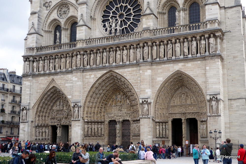Notre Dame, without the grime