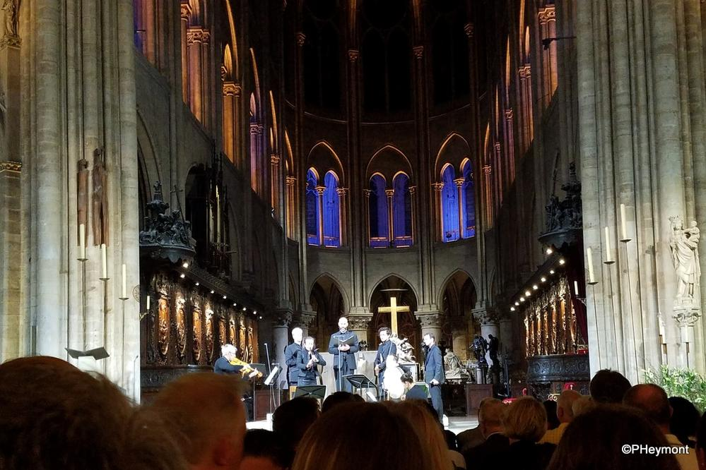 Evening Concert, Notre Dame, Paris