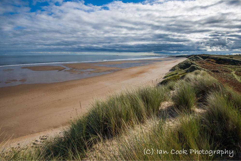 Alnmouth Bay Northumberland, deserted, unspoiled and beautiful!