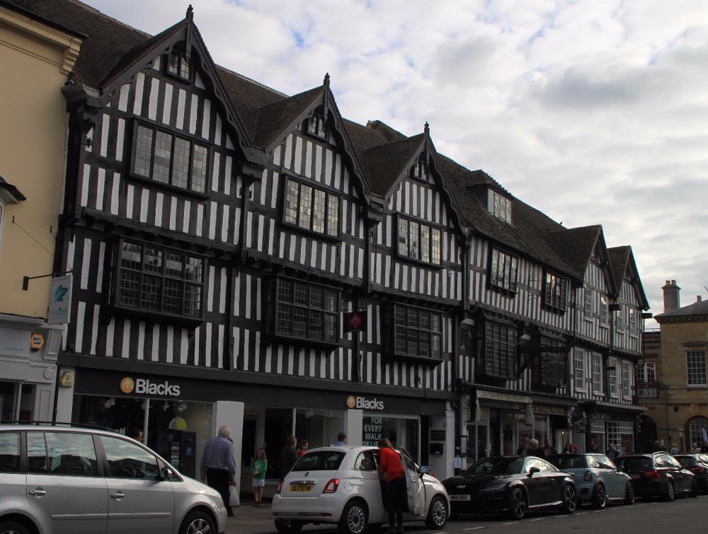 Half-timbered businesses, Stratford-upon-Avon
