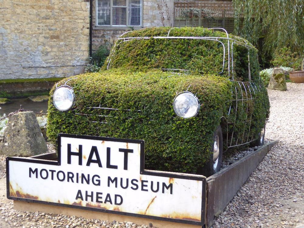 Entry display, Cotswold Motoring Museum, Bourton-on-the-Water