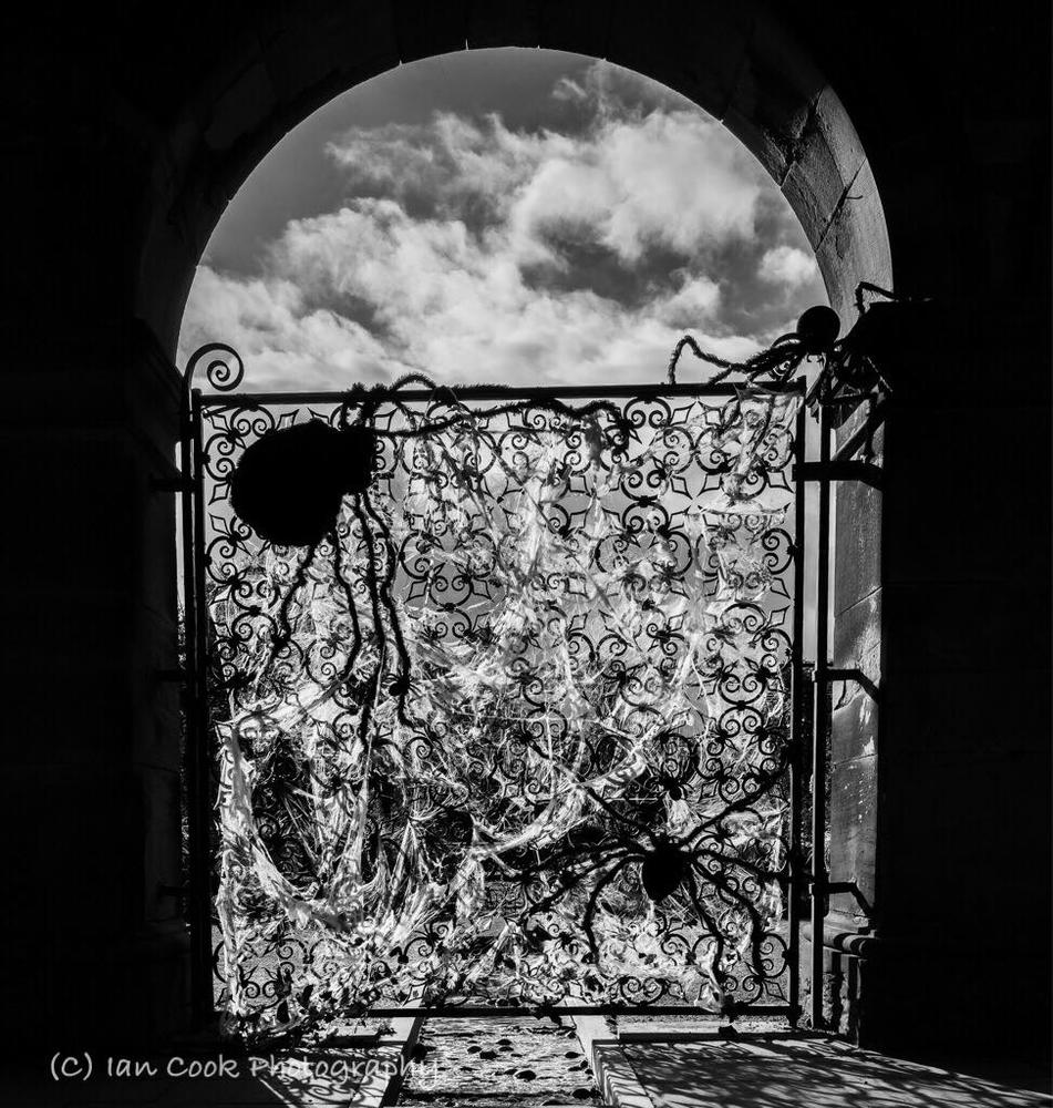 'Spider Gate', The Alnwick Garden Northumberland.