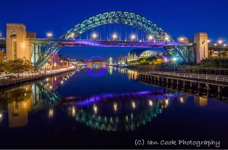 Tyne Bridge in 'the blue hour'