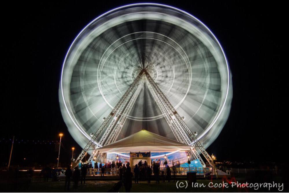 Ferris Wheel, Roker, Sunderland.