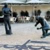 Honoring the tile-setters, Lisbon
