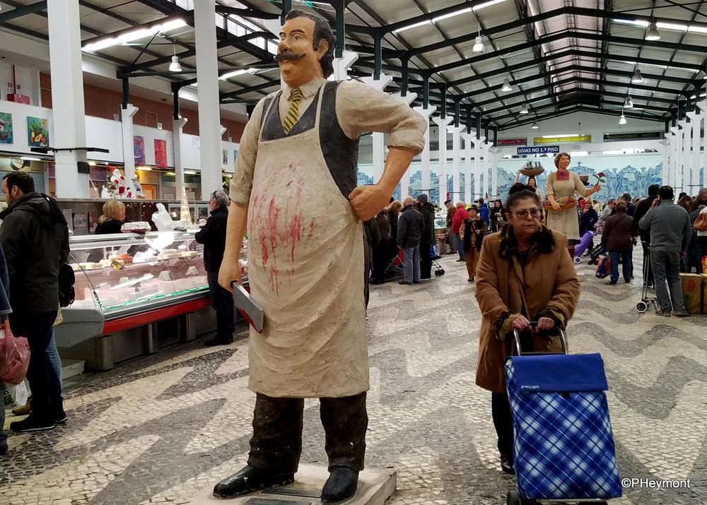 In the market, Setubal, Portugal