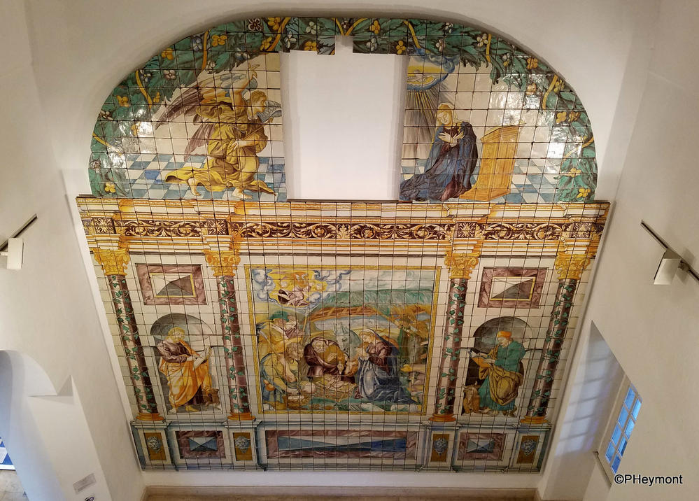 At the National Tile Museum, Lisbon