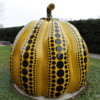 """Pumpkin"" -- colorful work of art at Hirshhorn Museum, Washington, DC"