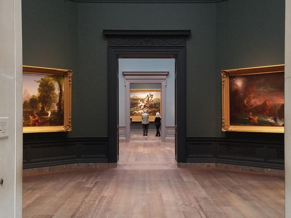 Perspective on art at National Gallery
