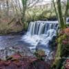 Haverdale Falls near Crackpot, Swaledale North Yorkshire