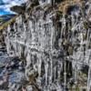 Ice Wall, Lownathwaite, Gunnerside Gill, Swaledale North Yorkshire
