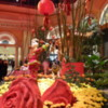 Chinese New Year exhibit at the Bellagio Conservatory, Las Vegas