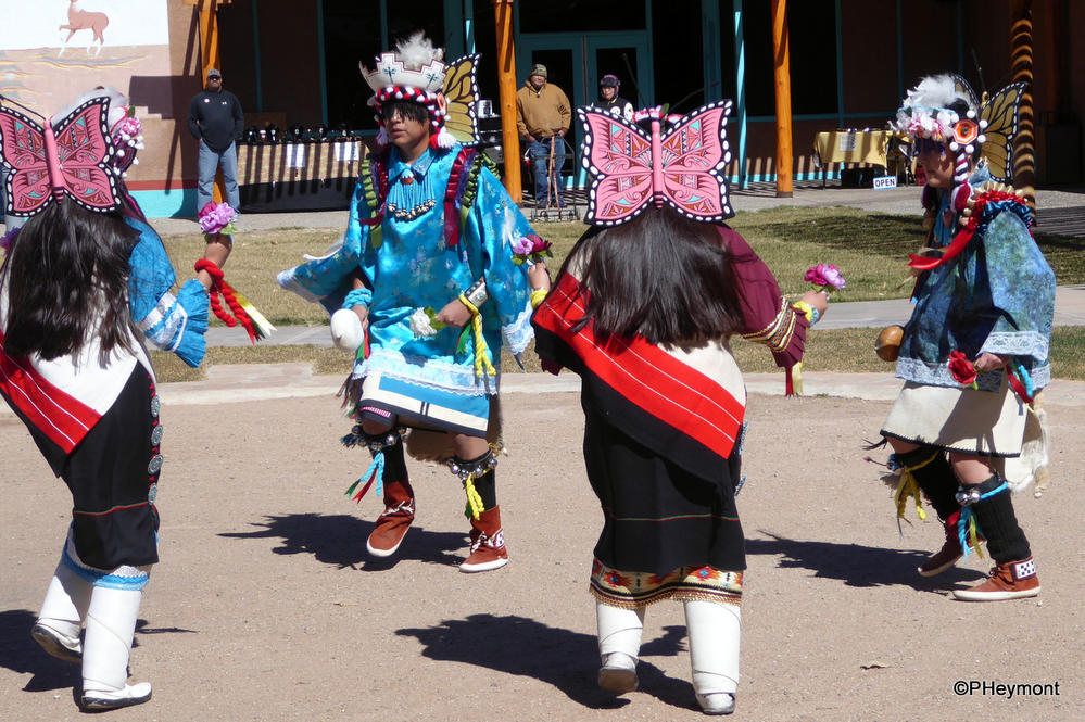 Butterfly dance at Indian Pueblo Culture Center