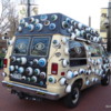 """""""Spotted on the Road"""".  The eyeball van, Pearl Street, Colorado"""