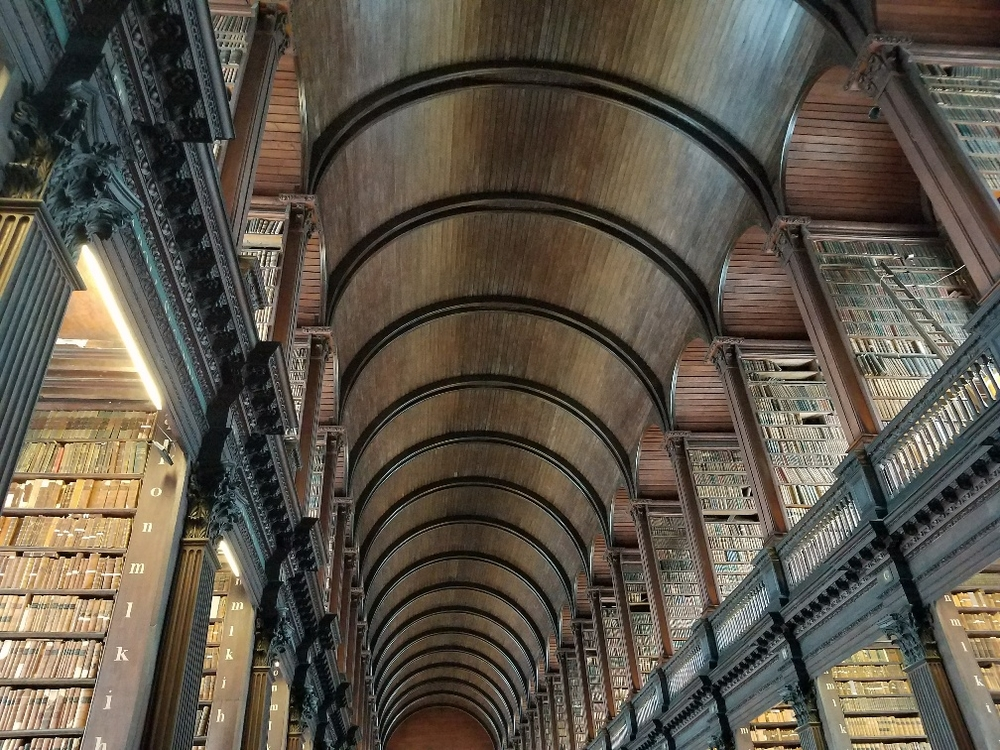 Long Room, Trinity College Library, Dublin