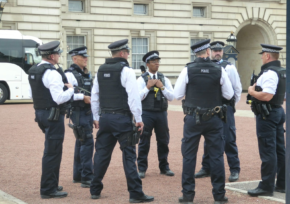 The Real Guards at Buckingham Palace
