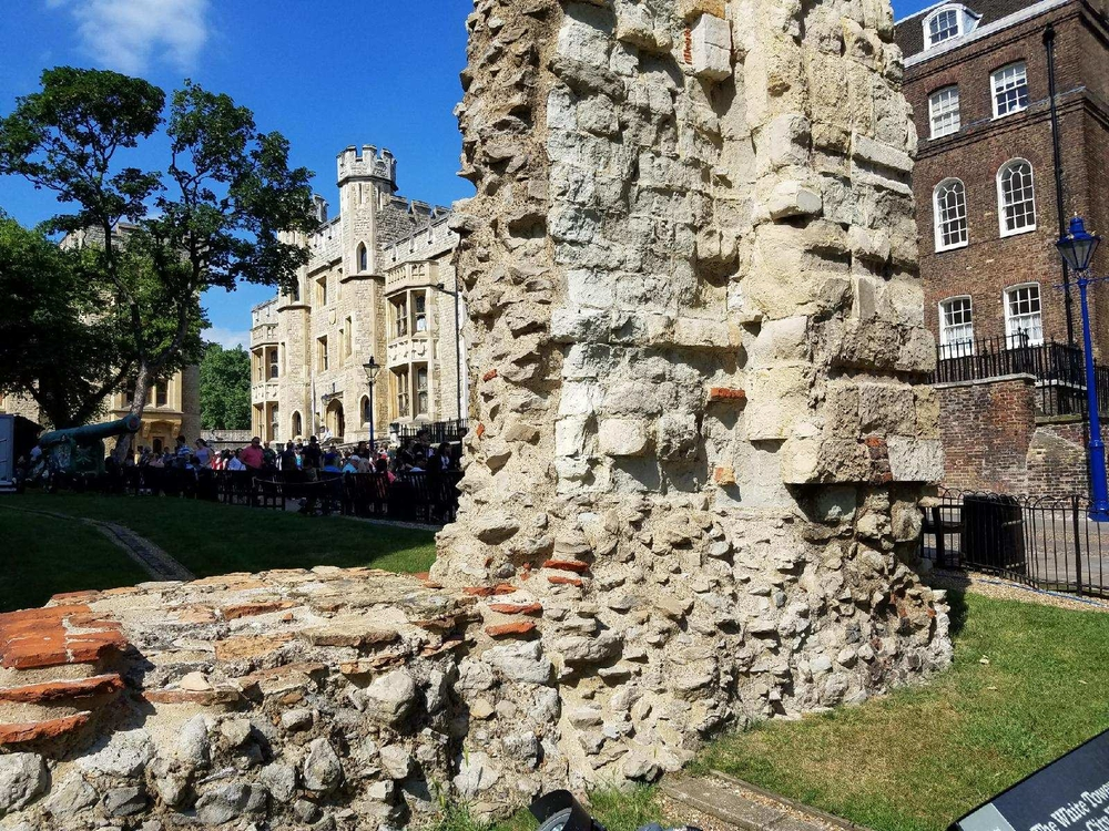 Ancient wall, Tower of London
