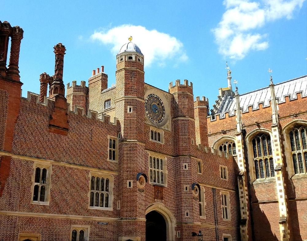 Clock court at Hampton Court Palace