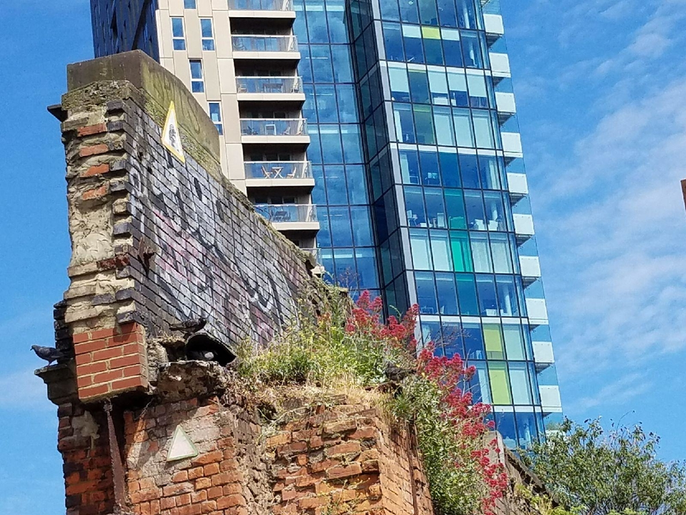 Old and New in Shoreditch, London