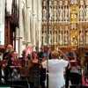 Rehearsal in Southwark Cathedral