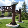 Riverside art, Whitehorse, Yukon