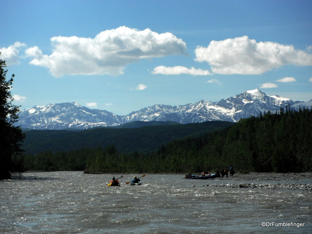 Beautiful landscapes, Tatenshini River, Yukon