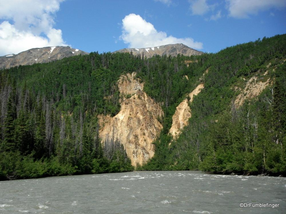 Lots of beautiful canyons and rapids, Tatenshini River, Yukon