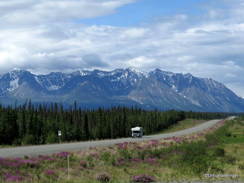 Alaska Highway, west of Whitehorse