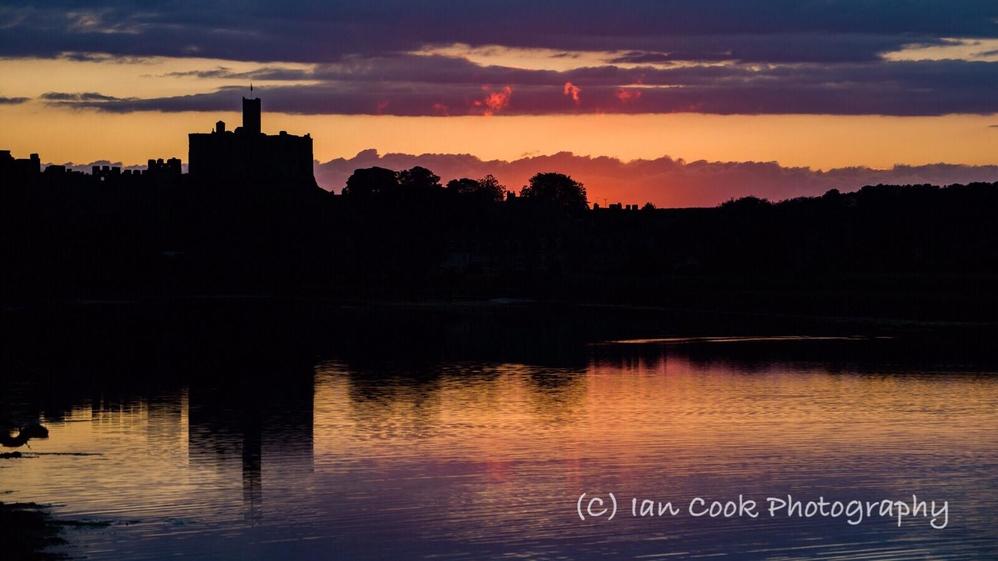 Warkworth Castle, Northumberland.
