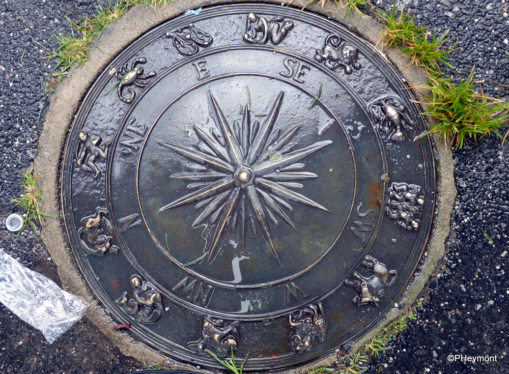 Zodiac Manhole Cover, Brooklyn