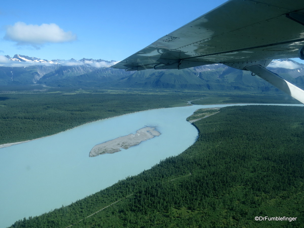 Coastal Alaska, including the last stretch of the Alsek River