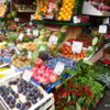 Lovely produce display in Brera district of Milan