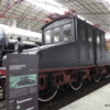 Old trains at the Leonardo da Vinci National Science and Technology Museum, Milan