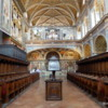 Beautiful frescoes at the Church of San Maurizo in Milan