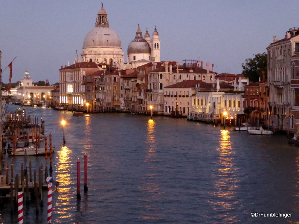 Beautiful Grand Canal at dusk.