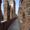 Walking the ramparts of Castelvecchio in Verona