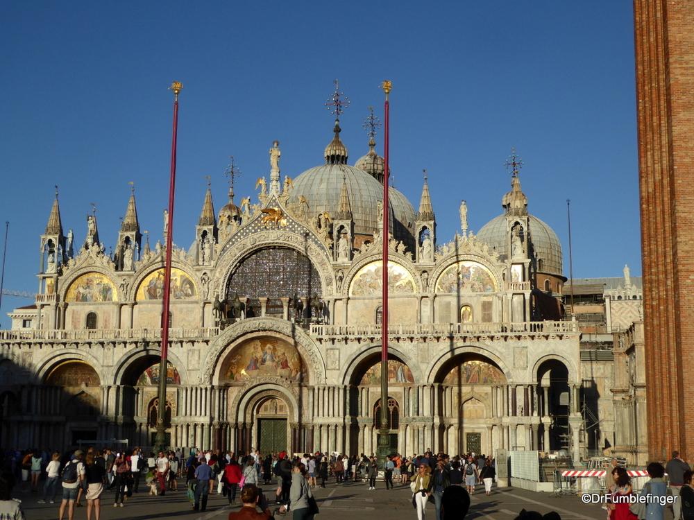 St. Mark's Basilica, Venice.  Perhaps the most unique church in Europe.